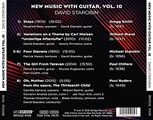 Music With Guitar Vol 10 [David Starobin] [Bridge Records: BRIDGE 9458] from Bridge Records