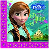 Disney Frozen Girls Servietten - fuchsia