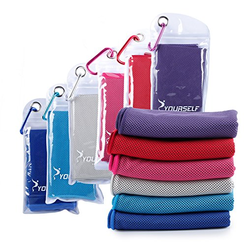 Cooling Towel for Instant Relief - Cool Bowling Fitness Yoga Towels - 40