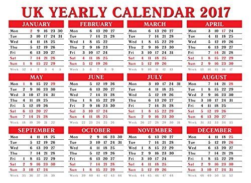 2017-a4-year-to-view-board-calendar-wall-hanging-desktop