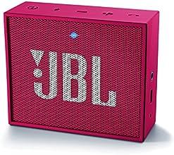 JBL GO Haut Parleur Ultra Portable avec Batterie Rechargeable et Connexion Bluetooth Compatible avec Smartphones, Tablettes et Appareils MP3 - Rose