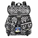 Vbiger Canvas Backpack for Women & Girls Boys Casual Book Bag Sports...