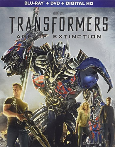 Blu-ray : Transformers: Age of Extinction (With DVD, Digital Copy, 3 Pack, Dolby, AC-3)