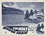 "Private: Wagon Train 1953 Authentic 11"" x 14"" Original Lobby Card Fine, Very Good Tim Holt History"