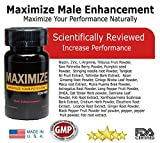 #1 Performance Enhancement - Maximize Increase Stamina, Size, Energy, and Male Endurance Pills 1 Month Supply