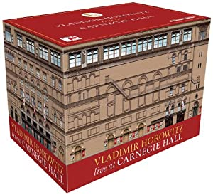 Vladimir Horowitz Live At Carnegie Hall [Box Set]