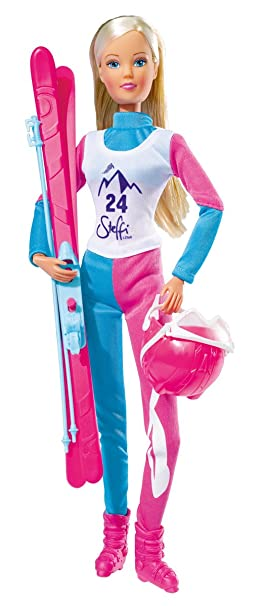 Simba 105730932 - Steffi Love Ski Champion, Habillage De Poupée