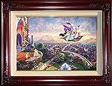 Aladdin - Thomas Kinkade 18 x 27 Examination Proof Limited Edition Framed Canvas Artwork