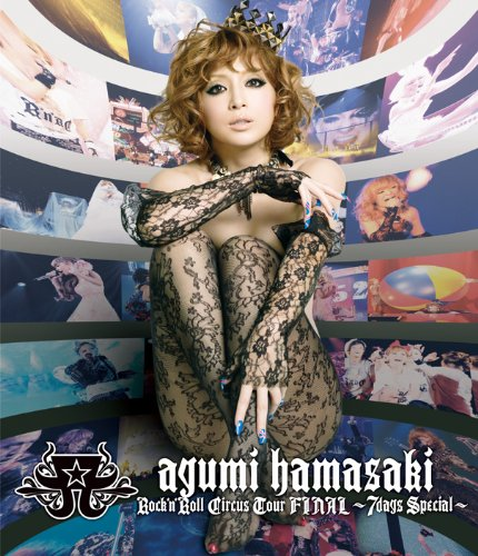 ayumi hamasaki Rock\'n\'Roll Circus Tour FINAL ~7days Special~ [Blu-ray]