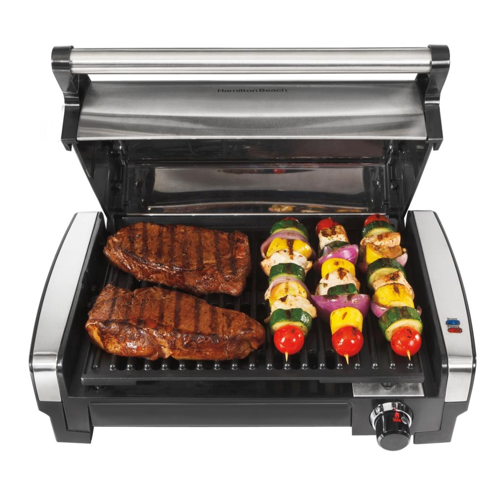 Amazon.com: Hamilton Beach 25360 Indoor Flavor/Searing Grill: Electric