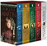 George R. R. Martin s A Game of Thrones 5-Book Boxed Set (Song of Ice and Fire series): A Game of Thrones, A Clash of Kings, A Storm of Swords, A Feast for Crows, and A Dance with Dragons