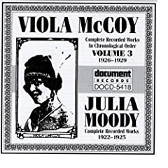 Viola McCoy Vol. 3 (1926-1929) inc. Julia Moody