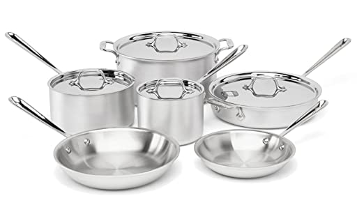 Non-Toxic Munchkin: All-Clad Stainless Steel Set 69% off