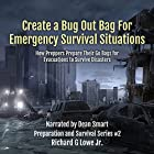 Create a Bug Out Bag for Emergency Survival Situations: How Preppers Prepare Their Go Bags for Evacuations to Survive Disasters: Disaster Preparation and Survival, Book 2 Hörbuch von Richard Lowe Jr Gesprochen von: Dean Smart