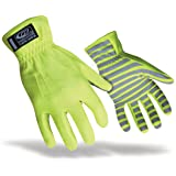 Ringers TrafficR-307 Reflective Gloves for Traffic Control, High Visibility, Green, Large