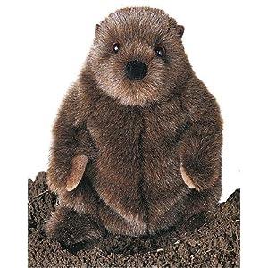 Douglas Cuddle Toys Chuckwood - Marmota de peluche (28 cm) marca Douglas - BebeHogar.com