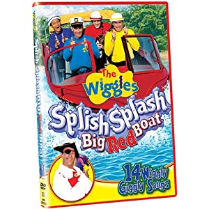.com: The Wiggles: Splish Splash Big Red Boat: Wiggles: Movies & TV