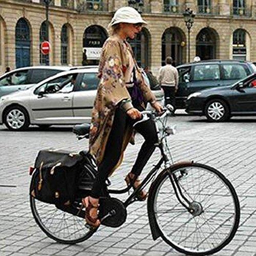 Zimo®Vintage Retro Bicycle Bike Front Light Lamp 7 LED Fixie Headlight with Bracket 6