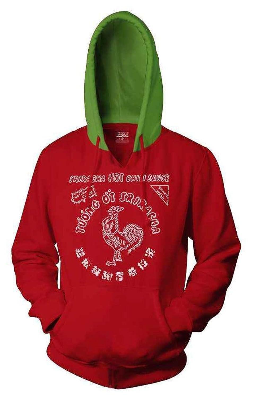 Funny Sriracha hot sauce hoodie