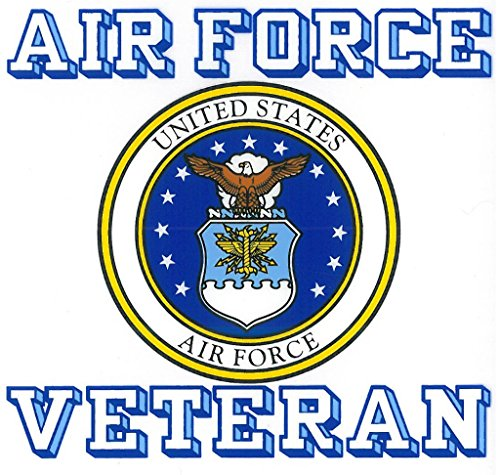 United States Air Force Veteran Car Decal US Military Gifts USAF Products