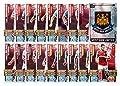 Match Attax 2015/2016 > West Ham United 17 Base Cards + Club Badge