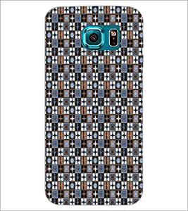 PrintDhaba Pattern D-5339 Back Case Cover for SAMSUNG GALAXY S6 (Multi-Coloured)