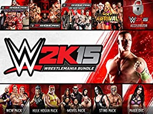 WWE 2K15 Wrestlemania Bundle - PS4 [Digital Code]