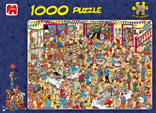 Picture of Jumbo J.V. Haasteren Birthday Special 1000pc Jigsaw Puzzle (B000EWC0Q6) (Jigsaw Puzzles)