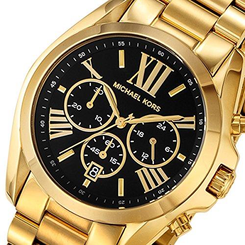マイケルコース MICHAEL KORS クロノ クオーツ レディース 腕時計 MK5739 ブラック