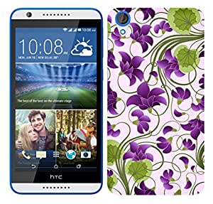 TrilMil Printed Designer Mobile Case Back Cover For HTC Desire 820