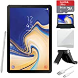 Samsung Galaxy Tab S4 10.5 inch WiFi Tablet Grey 256GB (SM-T830NZALXAR) with Tablet Stand, 10
