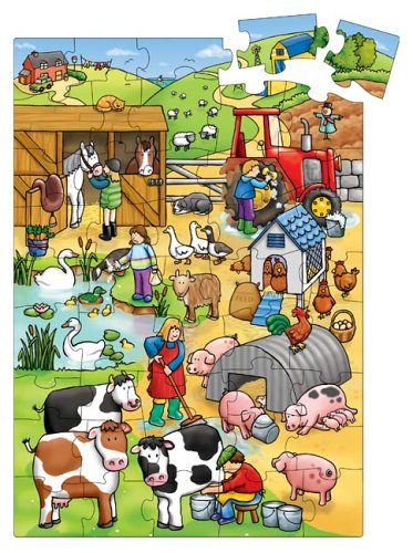 Cheap Fun The Original Toy Company Giant Floor Puzzle – Farm (B0002CYTX0)