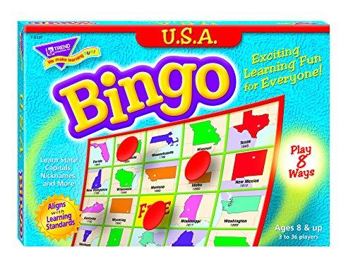 U.S.A. Bingo Game - 1