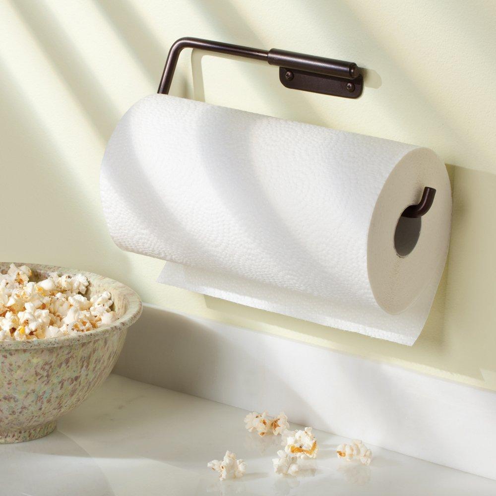 interdesign swivel wall mount paper towel holder bronze new free shipping ebay. Black Bedroom Furniture Sets. Home Design Ideas