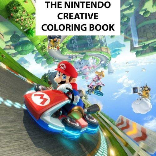 The Nintendo Creative Coloring Book: Kids, Kids books, Creative, Coloring, Activity, Luigi, Peach, Pikachu, Daisy, Wario, Zelda, Meta Knight, N64, ... U, Mario Kart, Pac-Man, Mario, Manga, Anime (Mario Brothers Coloring Book compare prices)