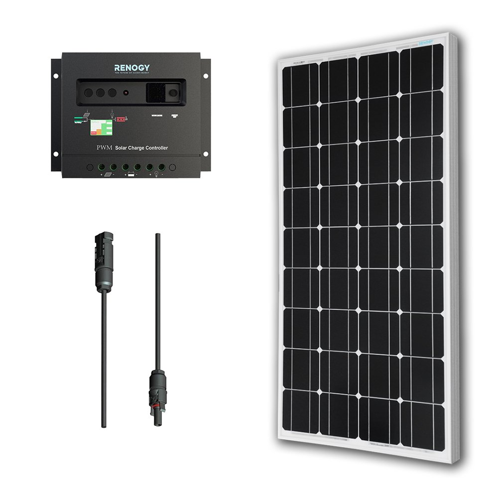 Solar Panel Bundle 100W Monocrystalline 30A Charge Controller Review