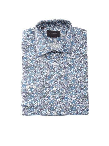 Duchamp Men's Floral Dress Shirt