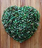 Solar Powered 38cm Topiary Heart with 20 Led Lights