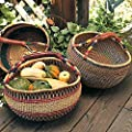 Market Basket - Handmade By Fair Trade Artisans - A Product That Gives Back by Gaiam