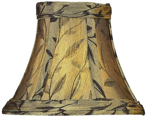 Lite Source CH515-7 7-Inch Lamp Shade, Café