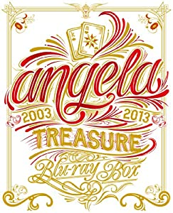angela TREASURE Blu-ray BOX【完全限定生産版】