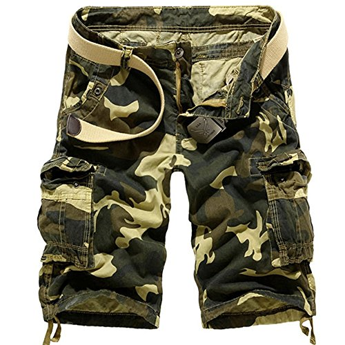 цены Juanshi Fathers Day Army Military Cargo Short Color Khaki Military