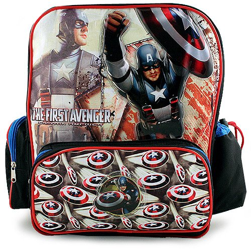 The First Avenger- Captain America Multi-Compartment Backpack