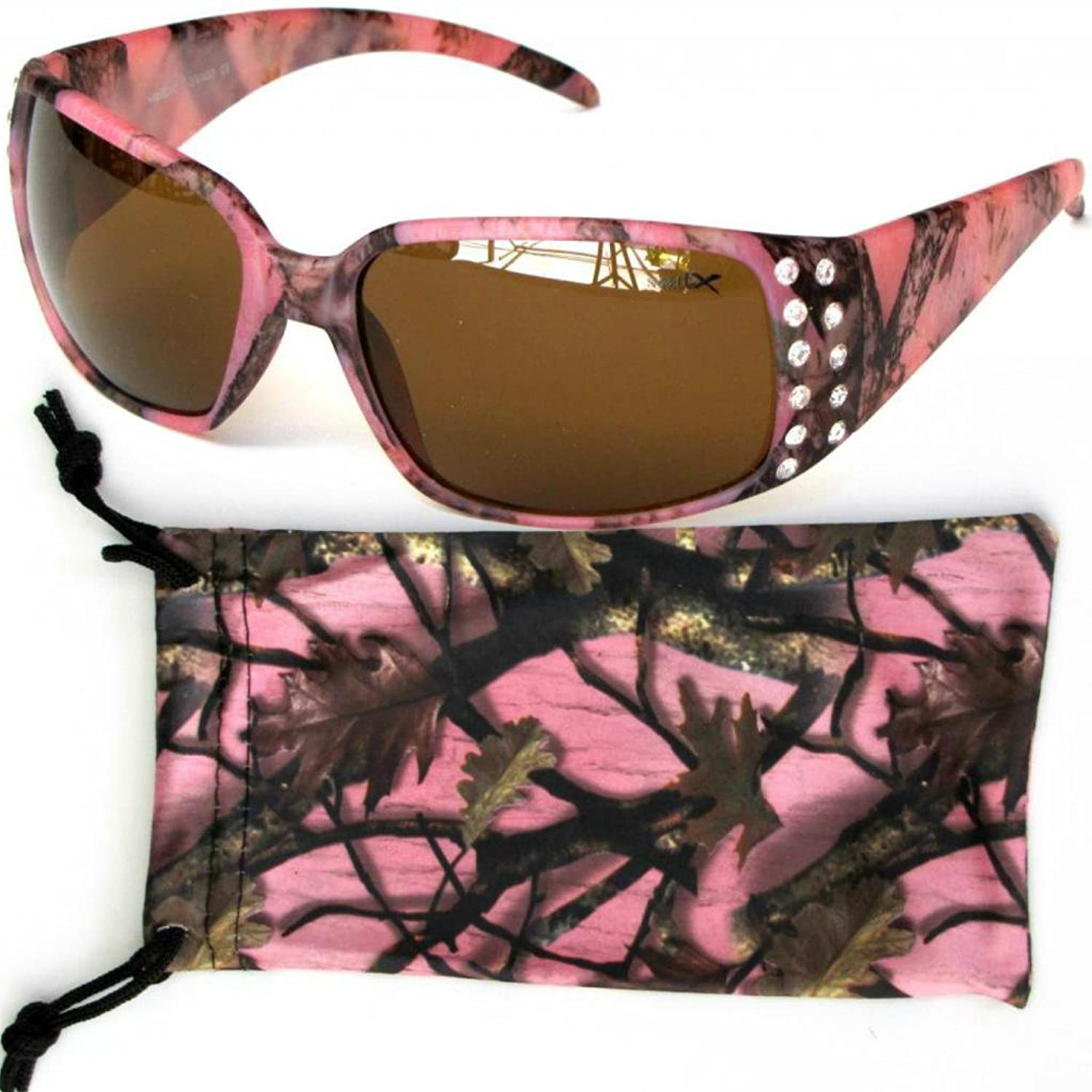 Pink Camouflage Sunglasses