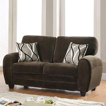 Enria Plush Love Seat -