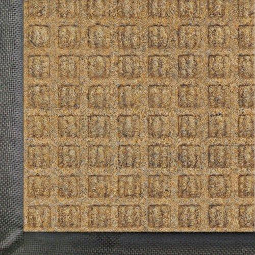 Andersen 200 Gold Polypropylene Waterhog Classic Entrance Mat, 5' Length X 3' Width, For Indoor/Outdoor front-612301