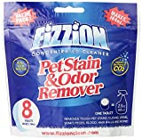 Fizzion Pet Stain and Odor Remover with Cleaning Towel, 8-Tablet