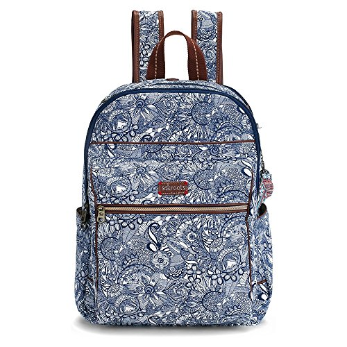 Sakroots Women's Artist Circle Cargo Backpack Navy Spirit Desert none none