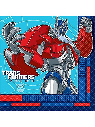 Transformers 'Prime' Large Napkins (16ct)