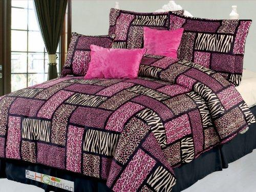 Faux Fur Comforter King front-713487